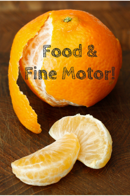 food-fine-motor